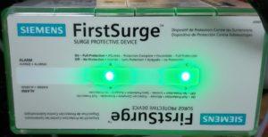 Whole house surge protection