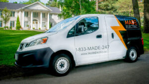 Made Electric Van Residential Electrical Services