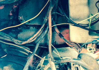 Replace old unsafe wiring (Aluminum wiring)
